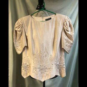 Exquisite Karen Lawrence blouse